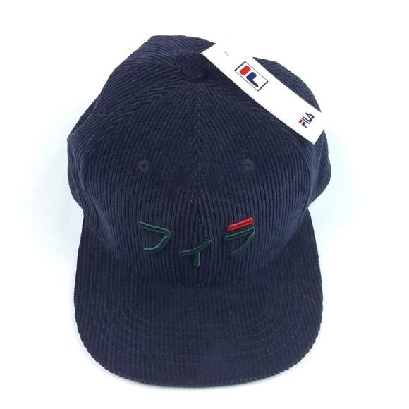 e670c2bbe97 FILA Men s Japanese Corduroy Baseball Hat